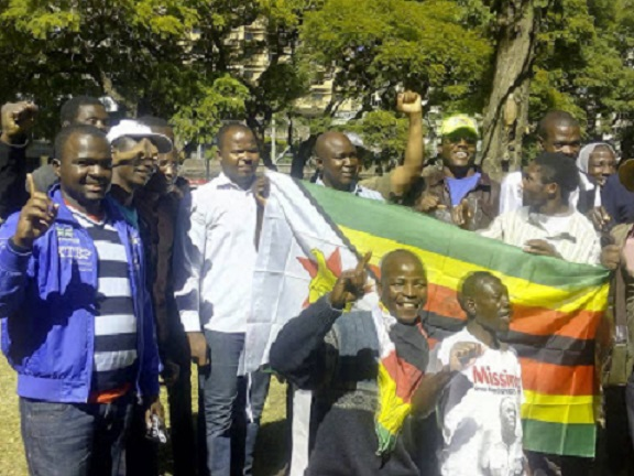 Africa Unity Square Camp-In Activists Arrested