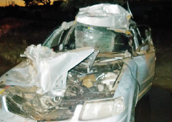 One Dies, 3 Injured In Critical Luveve Accident