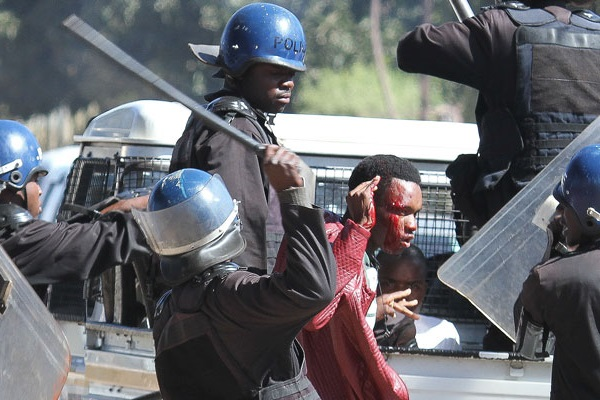 Arrested Protestors Abused In Police Custody
