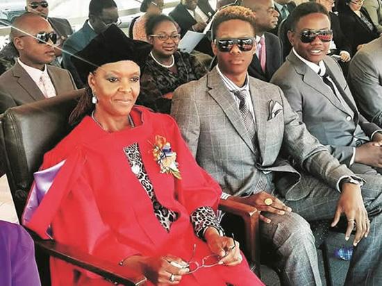 Dr Mugabe Comes To Bulawayo
