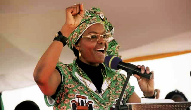 Grace Mugabe, Constantine Chiwenga Sucked Into Mine Wrangle