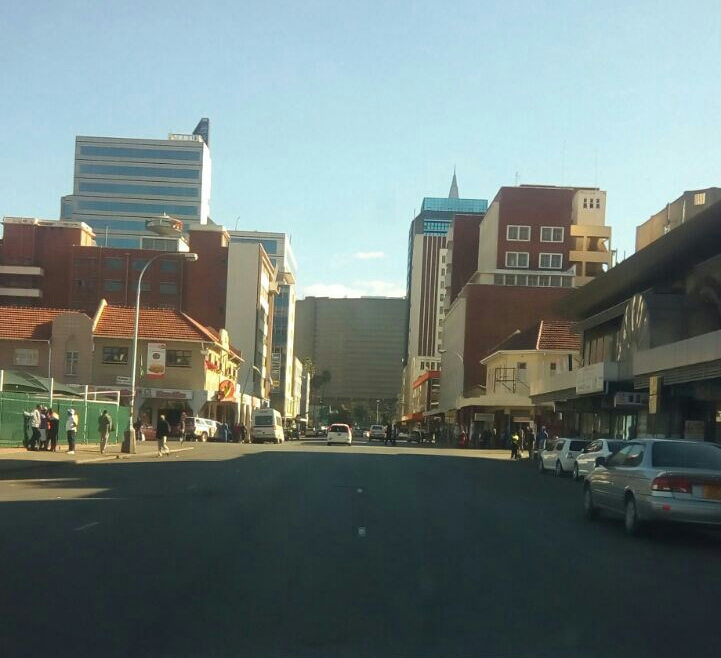 #ZIMSHUTDOWN: Harare Streets Empty!
