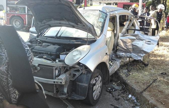 Gruesome Pirate Taxi, Kombi crash Claim Student Teacher's Life