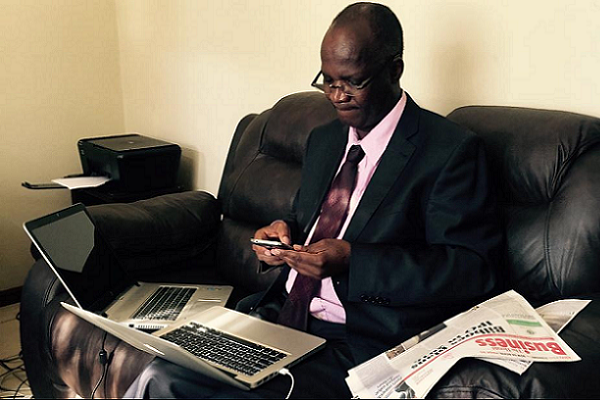 Prof Moyo's Office Broken Into: Laptops Found Missing