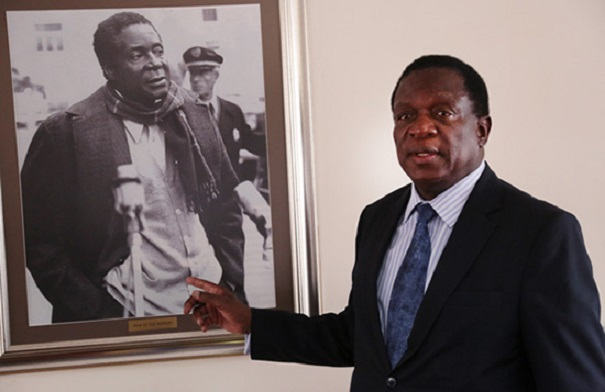 Mnangagwa Defends Mugabe In War Vet Fight
