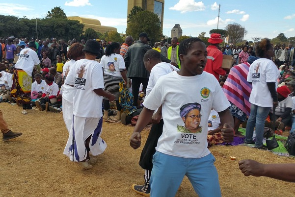 Mujuru Supporters Attacked After Harare Rally