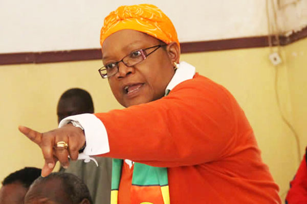 I Will Serve Only ONE TERM And Step Down If I Become President - Mujuru