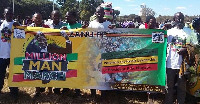 Mugabe March Leaves Trail of Destruction