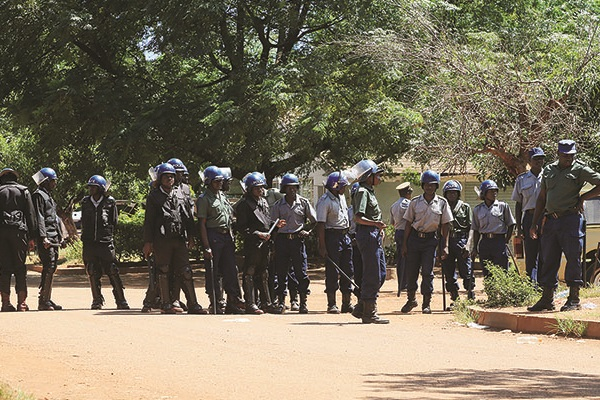 Police Deployed All Over Zimbabwe: July 6