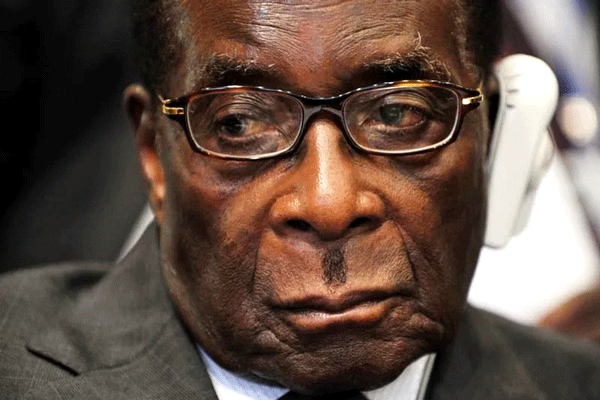 Mugabe Pretends All Is Well As His Party And The country Burns