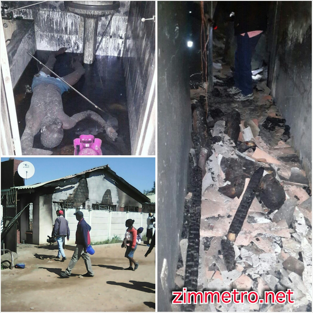 Pictures: Family Members Burnt To Death At Nketa Inferno