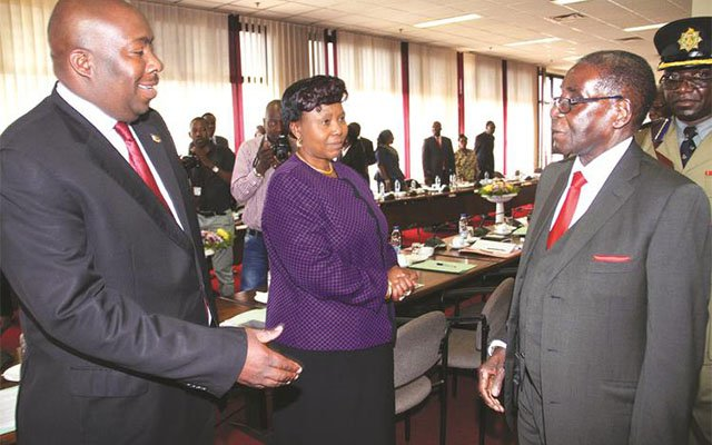 Mugabe Blasts Kasukuwere For