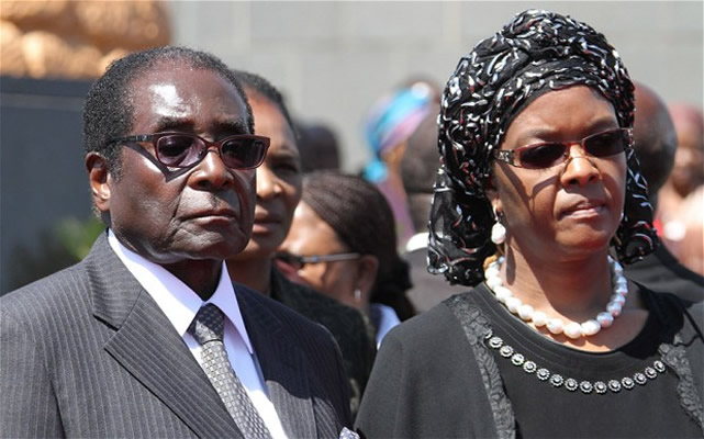 Grace Refuses To Cook For Mugabe - Leaked Tape