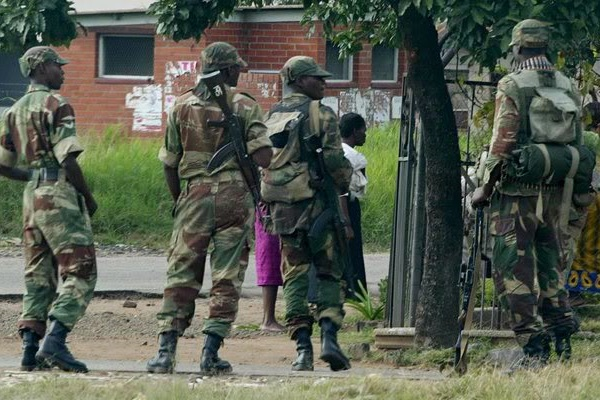 Mugabe's Plan B :Government Deploys Army To Major Hospitals