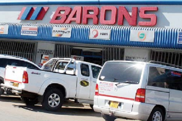 Barons Motor Spares Robbed,  $36,000 Stolen