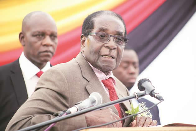 I Am Not Going Anywhere: Mugabe