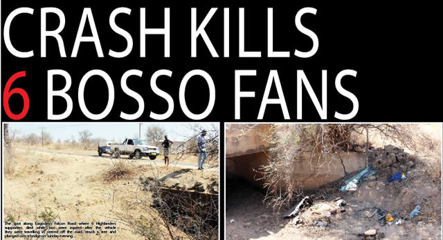 SIX BOSSO FANS DIE IN CAR CRASH