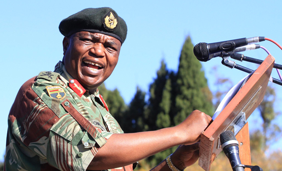 Defence Forces Boss Chiwenga Charms Mugabe
