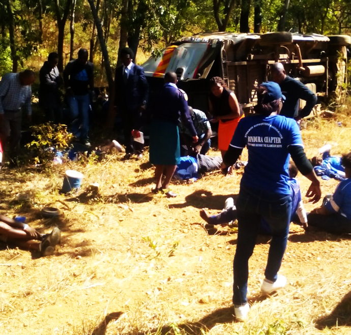 PICTURES: Horrific Accident Kills 7 Dynamos Fans