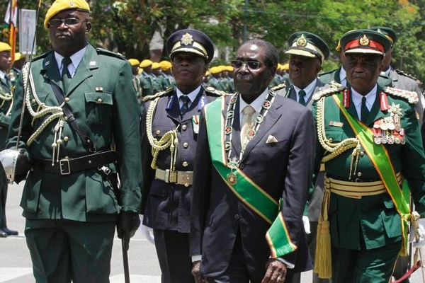 Mugabe Buys Zimbabwean Army Support With Praises