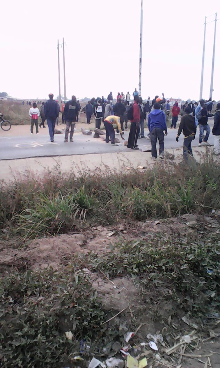 Pictures: Another Protest In Harare