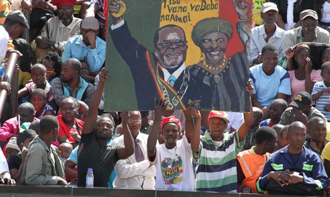 Mugabe's Charm Offensive: Blatantly Avoids War Veterans, Military Furore