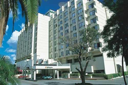 Bomb planted at Holiday Inn