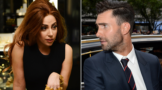 Adam Levine continues Twitter feud with Lady Gaga