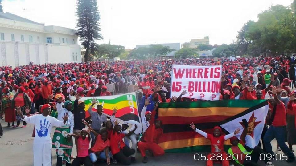 Bulawayo Marches Against Mugabe