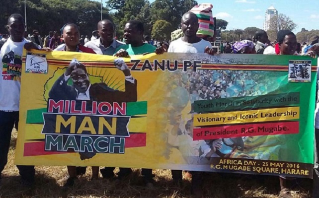 Zanu PF Youths Face Axe For Million Men March Fund Abuse