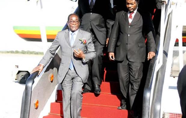 Mugabe 'Runs' Away As Zimbabwe Burns