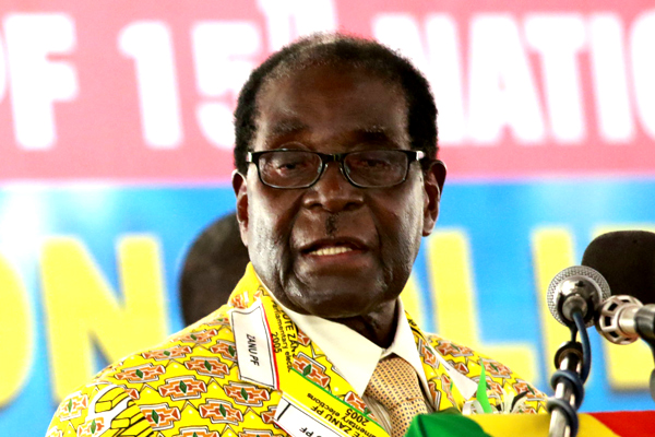 Opposition parties wasting their time: Mugabe