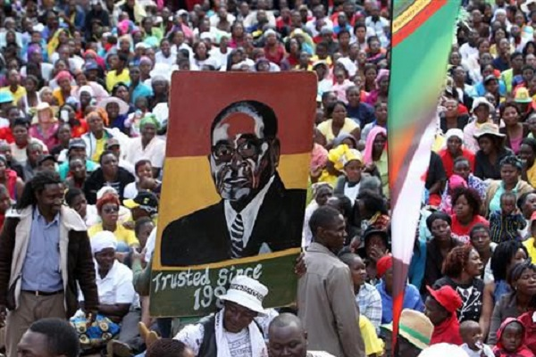 SHOCKING: People Tricked To Join Mugabe's March