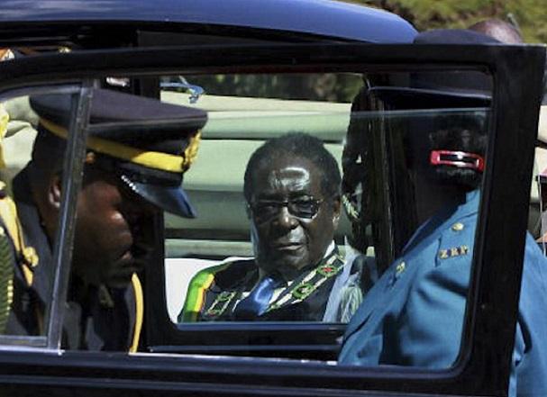 Cops Deny Threatening Mugabe's Life