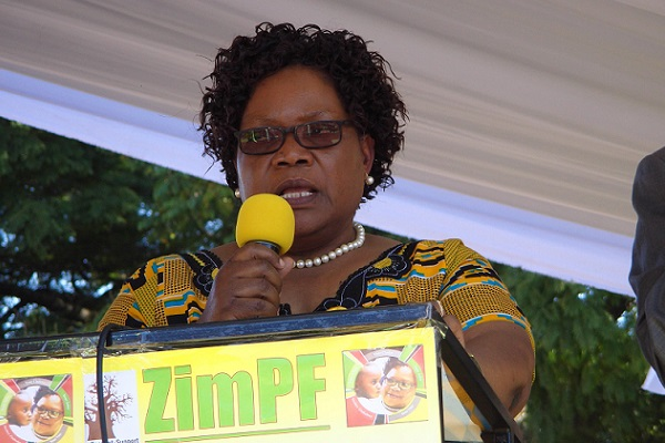 Mujuru On Fire: Launches Door To Door Mobilisation