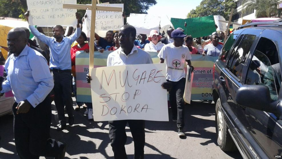 Church Leaders Protest Against Dokora's National Pledge