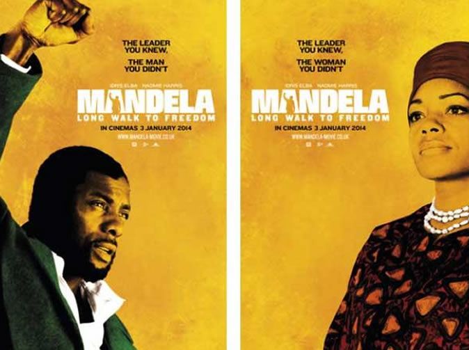 Nelson Mandela and family endorse Elba biopic