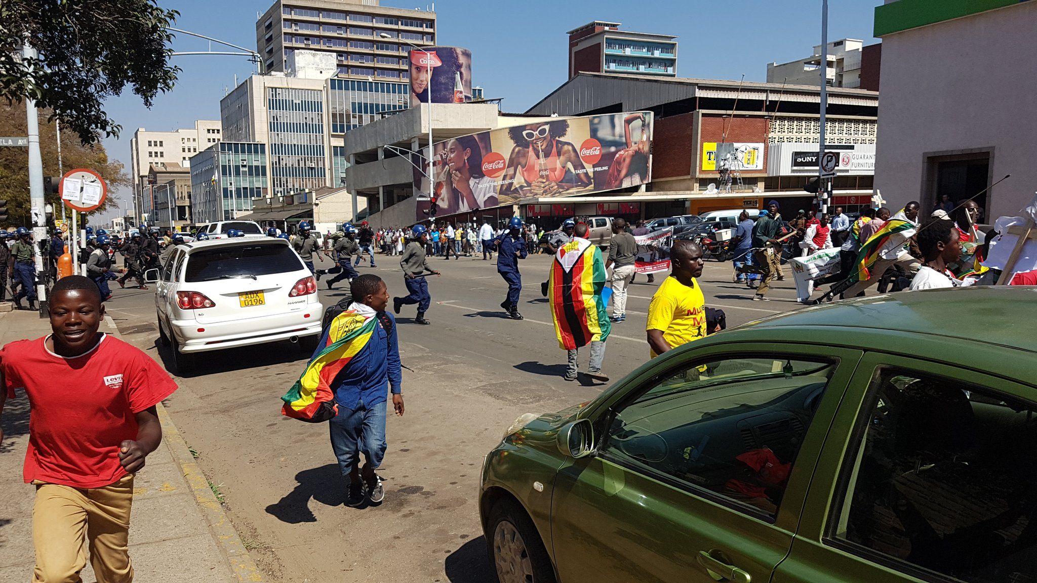 BREAKING: Thabitha Khumalo Injured During Harare Demo