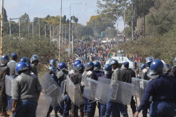 BREAKING: Chihuru Orders Police To Stay Away From Protesting Masses