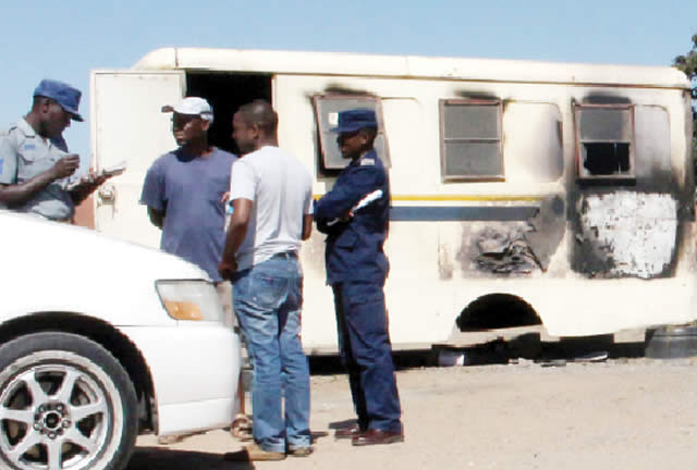 SHOCKING: Police Base in Bulawayo BOMBED