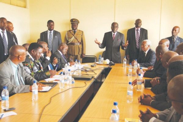 Is ZANU PF Discussing Government Or Party Issues In Politburo?