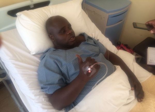 SHOCKING PICTURES: Tajamuka Activist In Hospital, Tortured,  Left For Dead