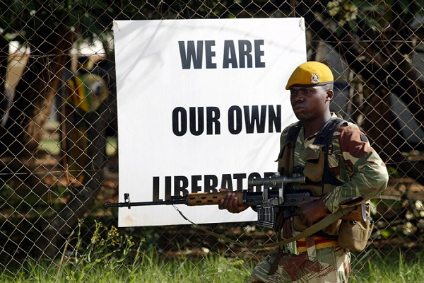 Zimbabwean Army Put On Standby
